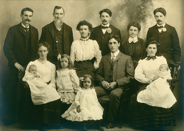 George and Roxanna Eastman Family