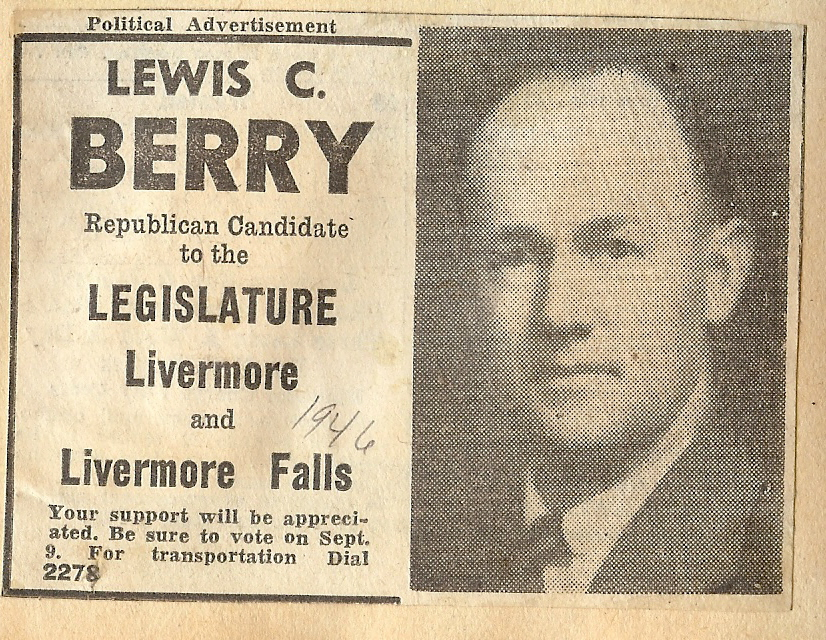 Rep. Lewis Berry